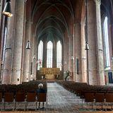 Wir dürfen gespannt sein, wie der opulente Innenraum der Kirche am großem Tag geschmückt sein wird.
