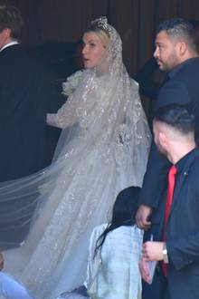 Ekaterina Malysheva in ihrem Hochzeitskleid