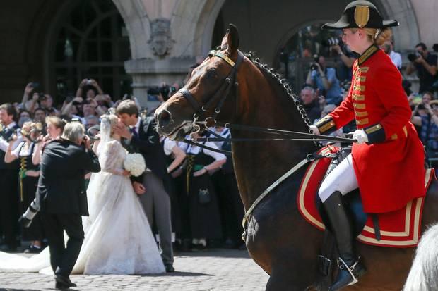 Prinz Ernst August und seine Ekaterina: Das Welfenpaar hat