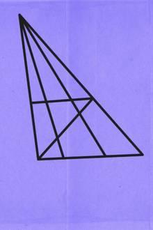 Wieviele Dreiecke sind hier zu sehen?