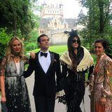 Ebenfalls auf dem Weg: Prinzessin Elisabeth von Thurn und Taxis,Martin Pacanowski, die argentinische Botschafter-Tochter Concepción Cochrane Blaquier und Victoria Botana.
