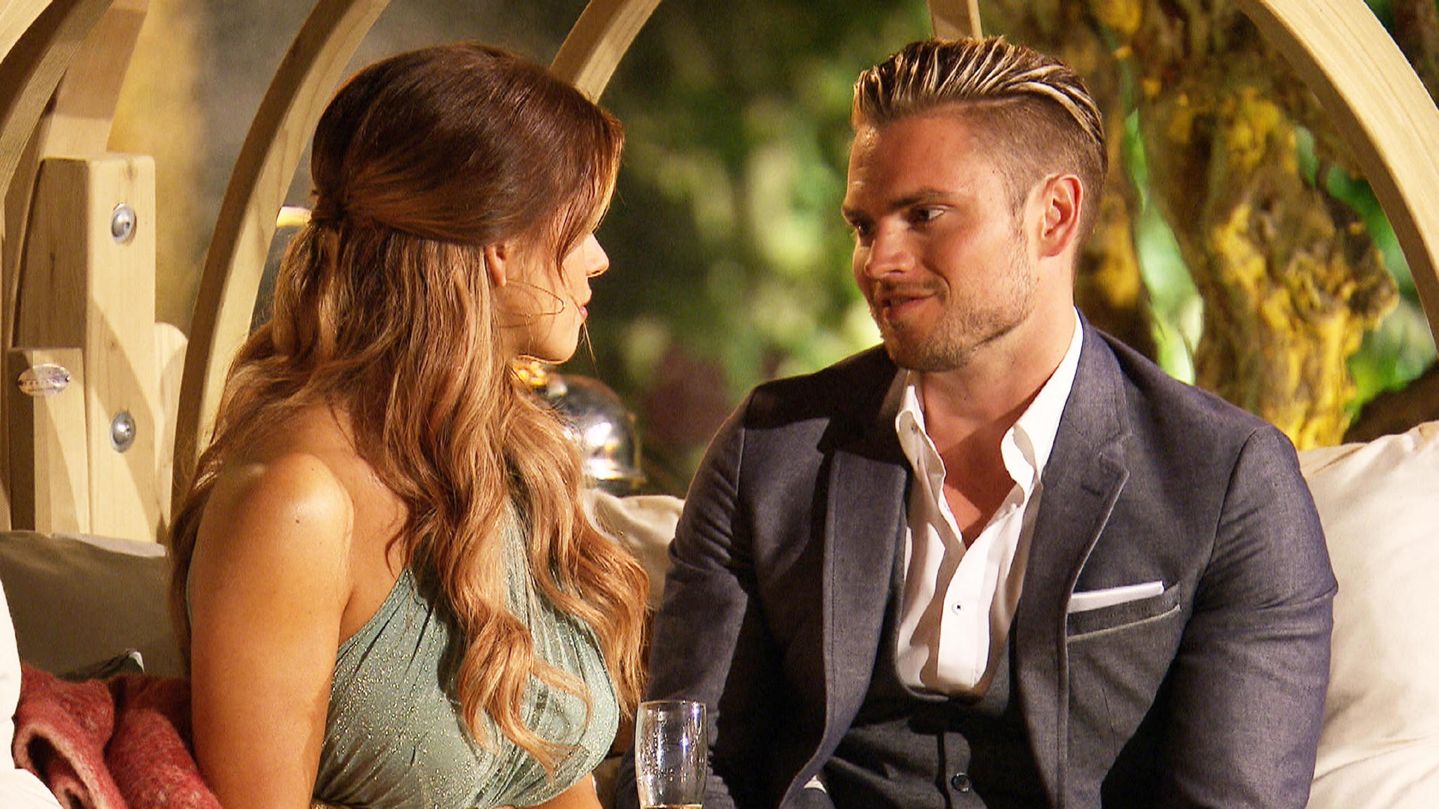 Bachelorette Jessica und Johannes.