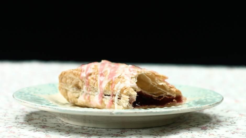 Kuchenalternative: Poptartes mit süßer Waldbeeren-Füllung