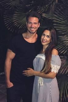 8. Juli 2017  Sebastian Pannek und Clea-Lacy Juhn entfliehen dem Alltag und freuen sich auf eine Auszeit inMarbella.