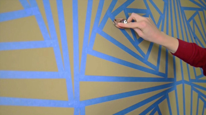 Wand Streichen Ideen Und Tipps Zu Muster 5