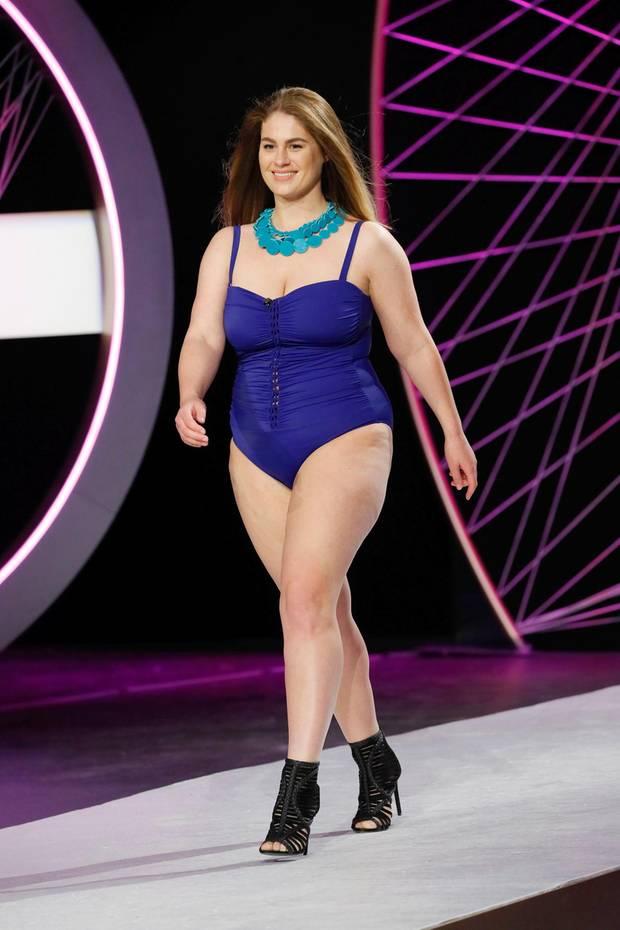 curvy supermodel chethrin