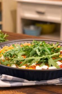 Sommerrezept: Tomaten-Tarte mit Ziegenkäse