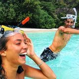 Alvaro Morata + Alice Campello  Das Four Seasons Resort auf den Seychellen ist definitiv DER Honeymoon-Hotspot unter den Stars. So auch bei Fußballer Alvaro Morata und Alice Campello, die hier das ein oder andere Abenteuer erleben.