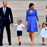 Tag 3 - 19. Juli 2017  Von Warschau geht es für die royale Familie nach Berlin. Die nächsten drei Tage werden sie in Deutschland verbringen. Für Prinz George und Prinzessin Charlotte ist das eine absolute Premiere.