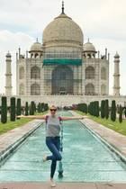 18. Juli 2017  Von ihrer Bucketlist kann Lena Gercke nun eines der sieben Weltwunder streichen. Sie besucht in Indien das berühmte Taj Mahal.