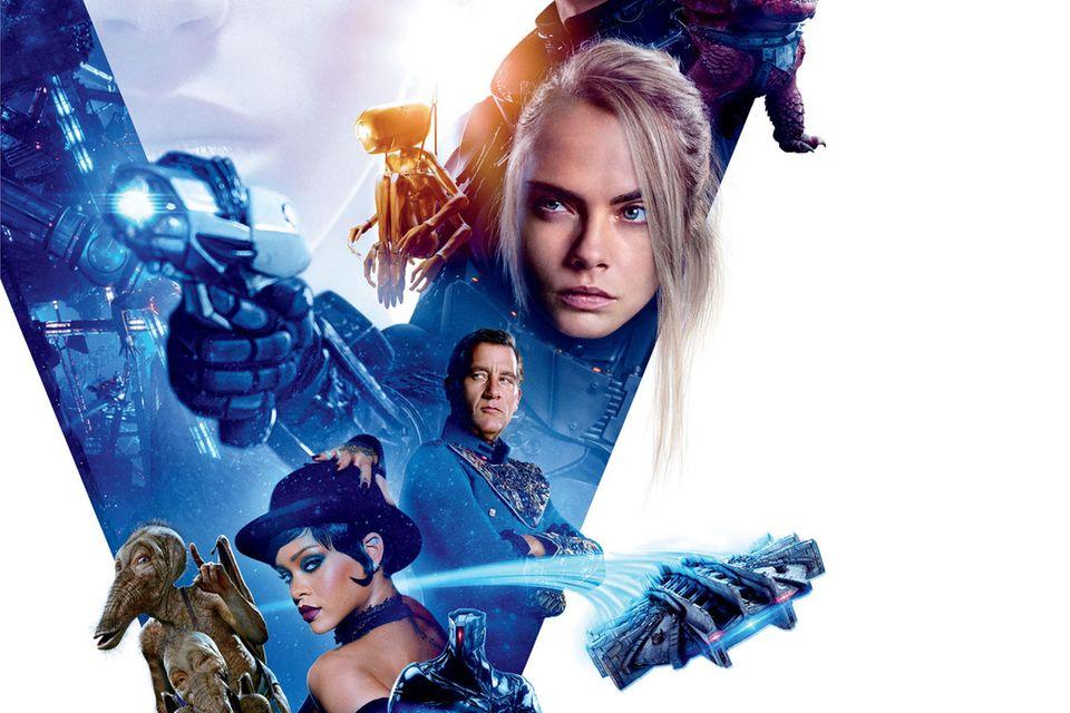 """""""VALERIAN""""spielt im 28. Jahrhundert und ist mit der Adaption des Science-Fiction-Comics von Action-Regisseur Luc Besson die teuerste französische Filmproduktion aller Zeiten. Er startet am 20. Juli in den Kinos"""