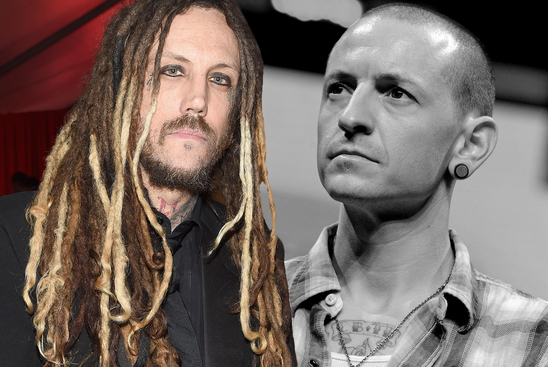Brian Welch, Chester Bennington (†)