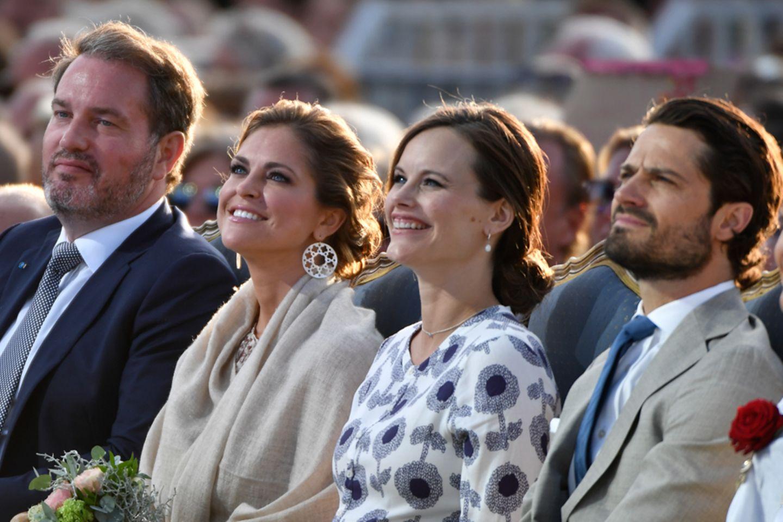 Chris O´Neill, Prinzessin Madeleine, Prinzessin Sofia, Prinz Carl Philip