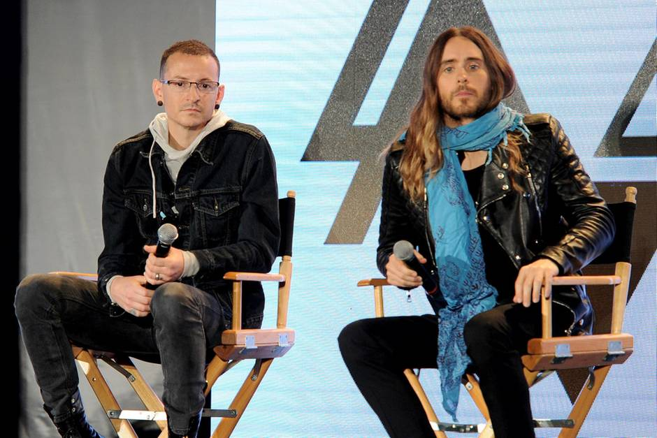 Chester Bennington und Jared Leto