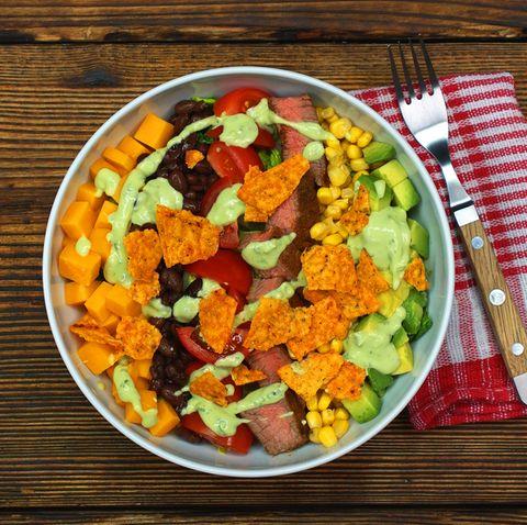 Stadtgarten-Salat: In voller Blüte