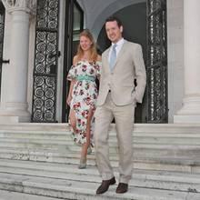 Danica Marinkovic und Prinz Philip von Serbien