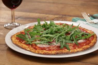 Gesunde Alternative: Pizzaboden aus Blumenkohl