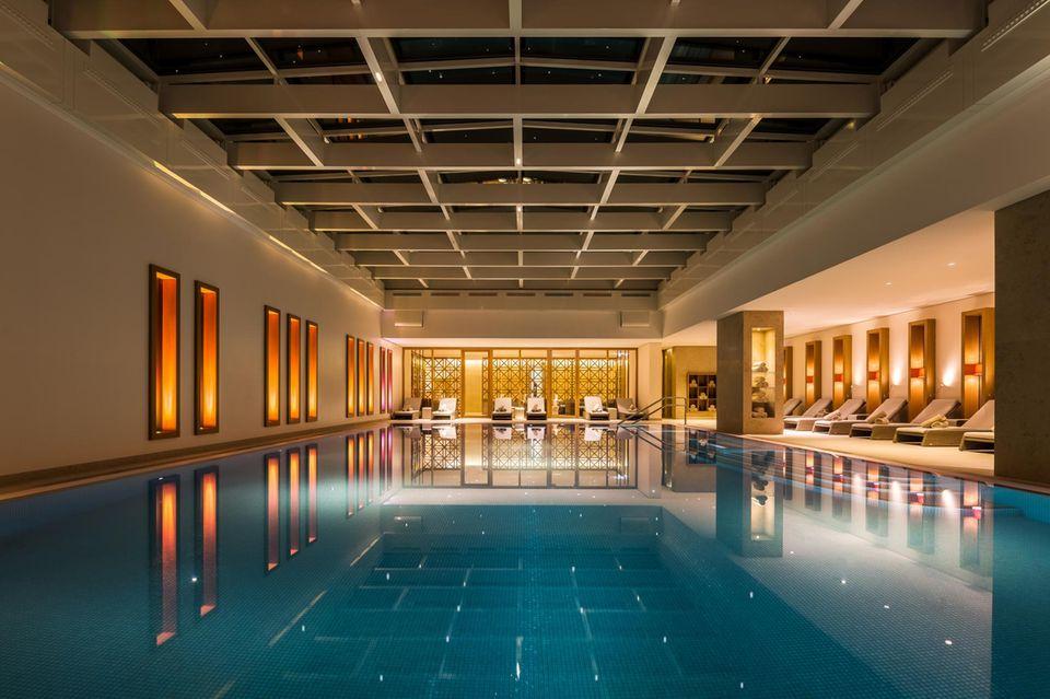 Der Pool-Bereich des Severin's Spa