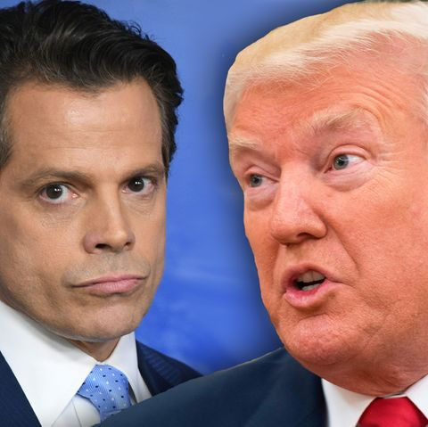 Anthony Scaramucci und Donald Trump