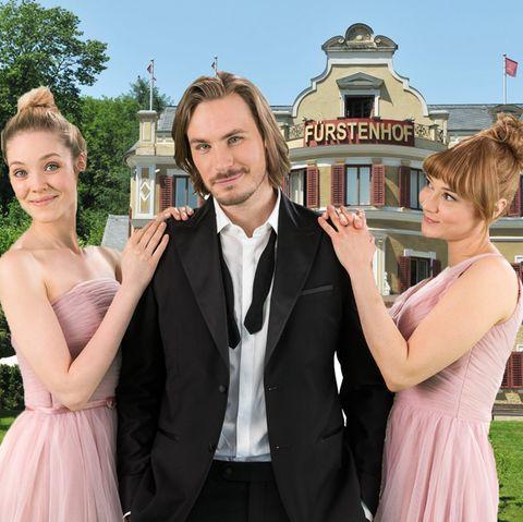 """Ella (Victoria Reich), William (Alexander Milz) und Rebbeca (Julia Alice Ludwig) sind die Hauptdarsteller in der 13. Staffel von """"Sturm der Liebe"""""""