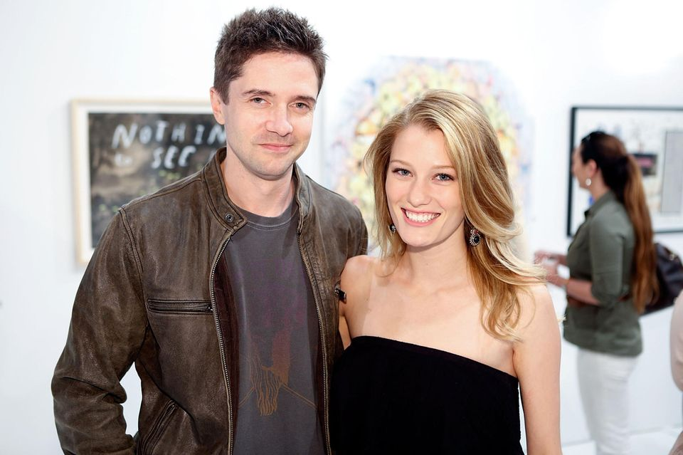 Topher Grace + Ashley Hinshaw