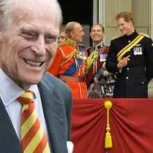 Prinz Philip, Prinz Harry, Herzogin Catherine, Prinz William