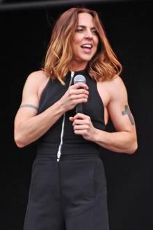 Schon zu ihrer Zeit bei den Spice Girls hatte Mel C. die Rolle der Sporty Spice inne. Doch so trainiert wie heute, war Melanie Chisholm wohl noch nie. Wirklich richtige Mega-Muckis!