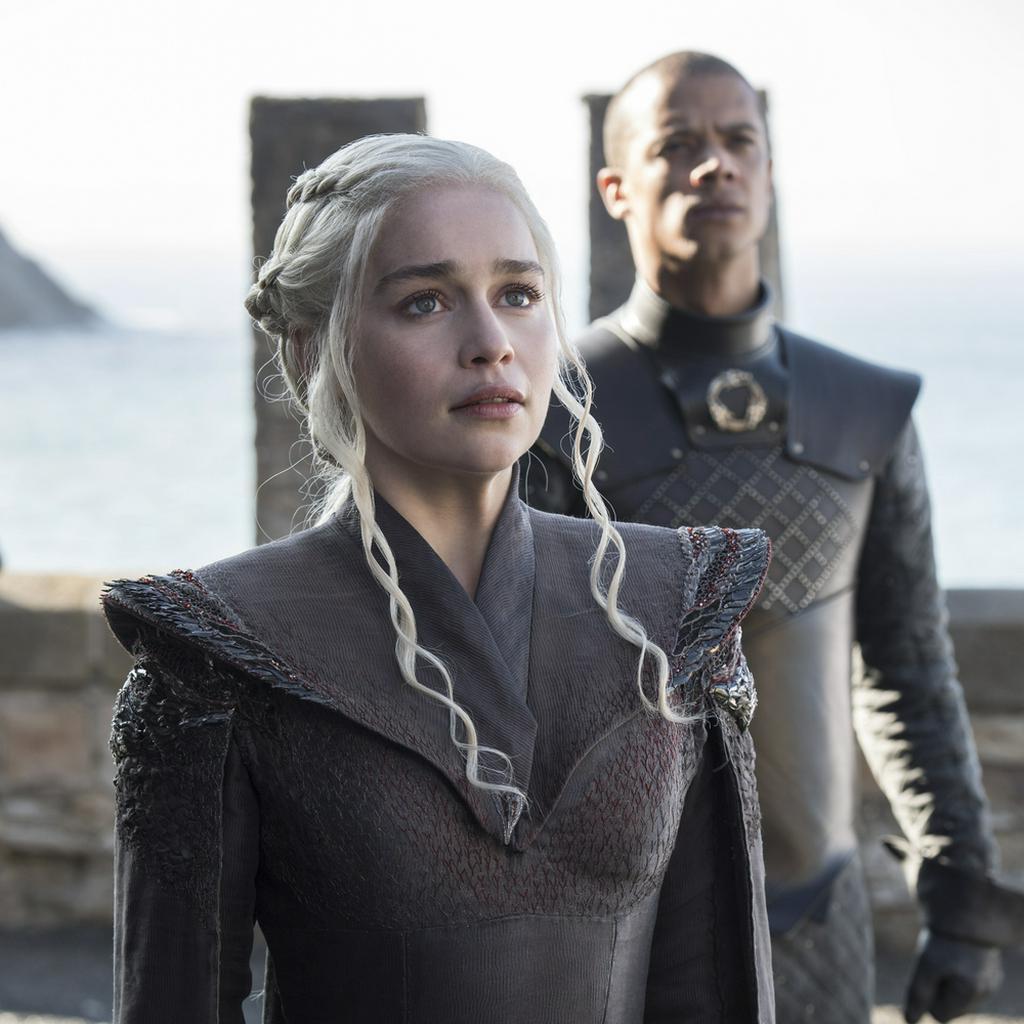"""""""Game of Thrones"""": Danaerys Targaryen und Grauer Wurm"""
