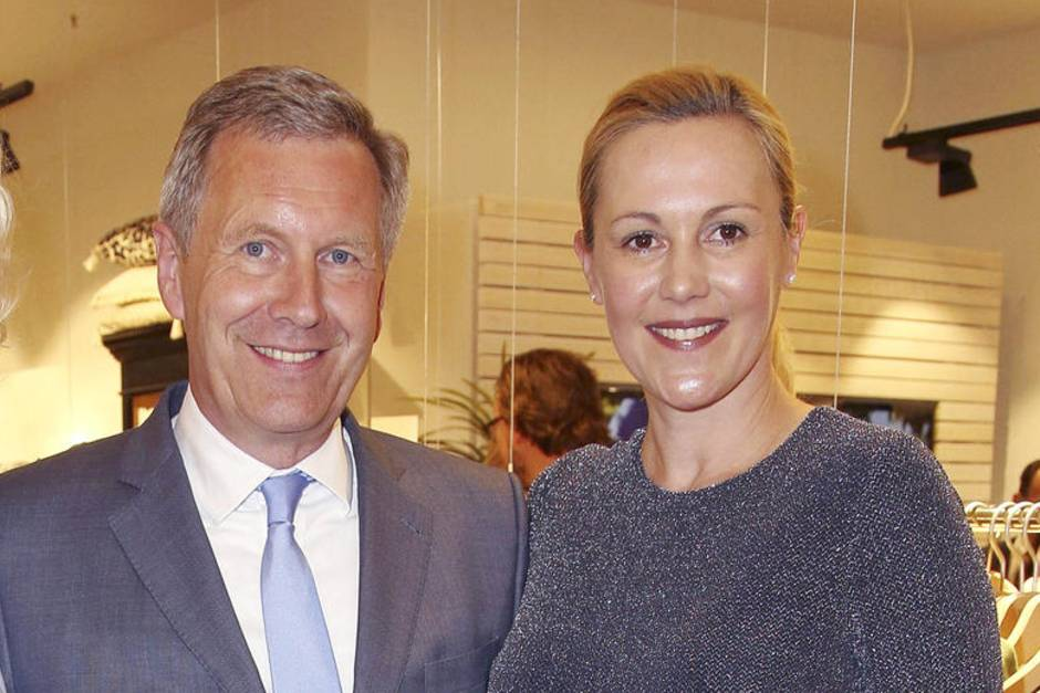 Christian Wulff und Bettina Wulff bei der Flagship Store Opening Party des Labes