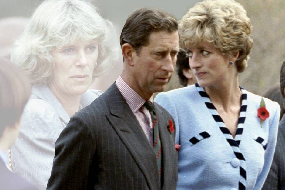 Camilla, Prinz Charles und Lady Di (†)