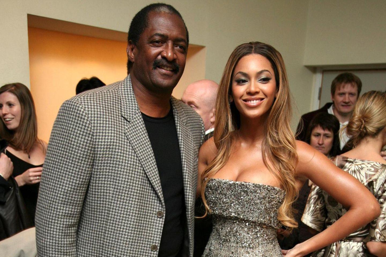 Mathew Knowles + Beyoncé Knowles