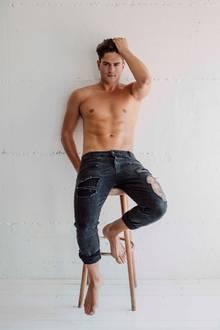 """Dominik Brunter (24)  Mädels aufgepasst: Mit dem """"Mister Germany 2017"""" konnte """"Promi Big Brother"""" einen wahren Leckerbissen mit an Bord holen: """"Ich bin eigentlich immer gut drauf, hab' Bock, Party zu machen, und denke, ich kann schon ein bisschen Stimmung ins Haus bringen. Außerdem bin ich Single und vermute, dass auch einige hübsche Mädels dabei sind. Mal schauen, vielleicht ergibt sich ja in die Richtung was."""""""