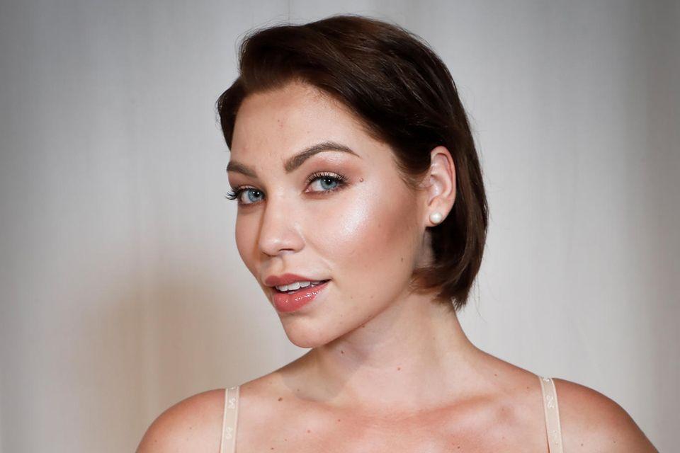 """Ein ganz neuer Mensch: """"Curvy Supermodel""""-Kandidatin Bianca nach dem Umstyling"""