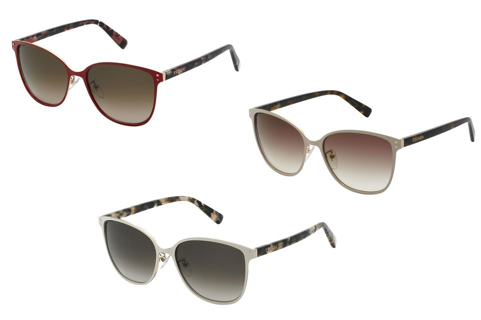 Die Escada-Sonnenbrille in drei Variationen