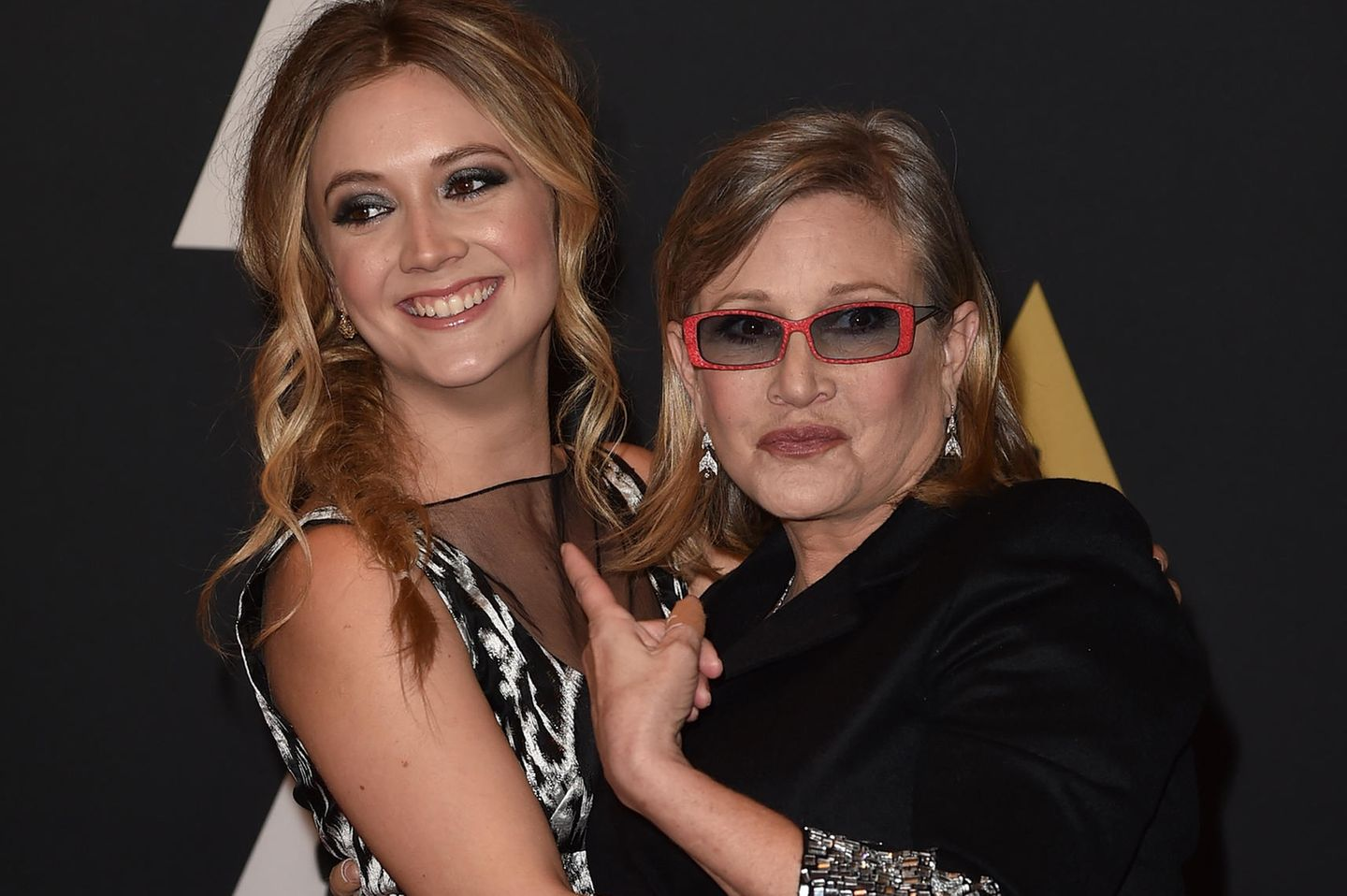 Billie Lord, Carrie Fisher (†)