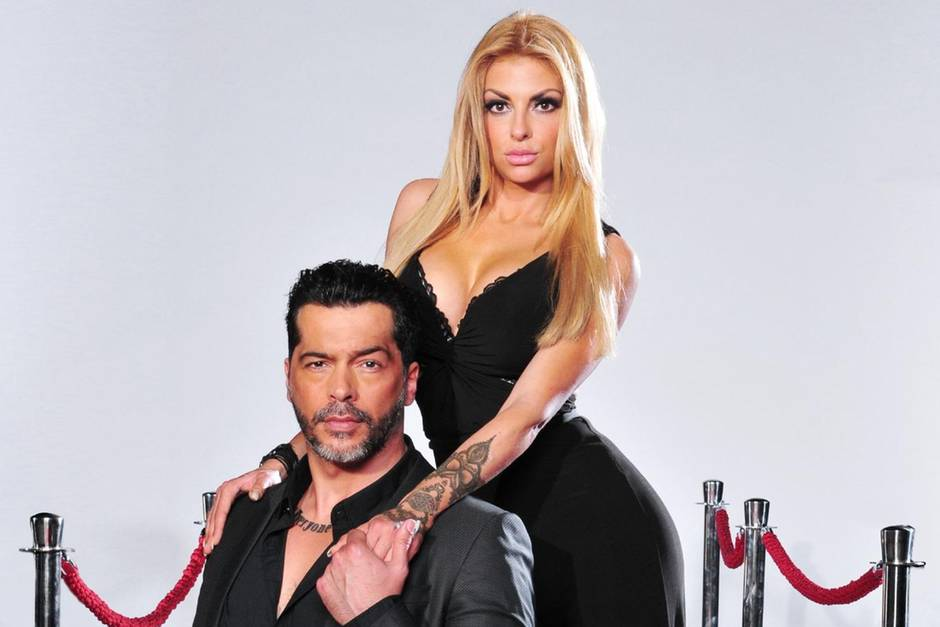 Aurelio Savina und Lisa Freidinger