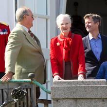 Prinz Henrik, Königin Margrethe, Kronprinz Frederik