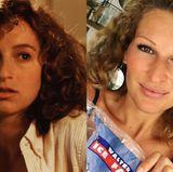 """Janni Hönscheid hat verdächtig viel Ähnlichkeit mit Frances """"Baby"""" Houseman (gespielt von Jennifer Grey) aus dem Kultfilm """"Dirty Dancing"""". Gemeinsam mit Patrick Swayze (†) sorgte Jannis Zwilling für einen der großen Kino-Kassenschlager in den Achtzigern."""