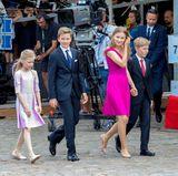 Am belgischen Nationalfeiertag schmeißen sich die Kinder von Königin Mathilde und König Philippe besonders in Schale und überraschen mit ihrem Auftritt. Besonders Prinzessin Elisabeth und Prinz Gabriel treten viel reifer auf. Doch auch ihre jüngeren Geschwister, Prinzessin Eléonore und Prinz Emmanuel wirken äußerst souverän.