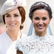Brautfrisur: Kate + Pippa Middleton