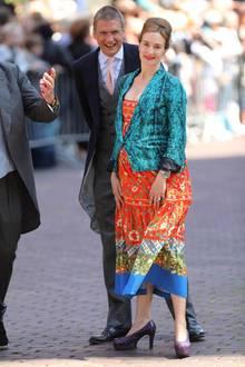 Überraschung bei der Hochzeit von Prinz Ernst August von Hannover und Ekaterina Malysheva Anfang Juli 2017: Maria Theresia von Thurn und Taxis, hier mit ihrem Mann Hugo Wilson, ist wieder schwanger, und die süße Tochter Mafalda bekommt bald ein Geschwisterchen.