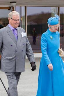 Prinz Henrik und Königin Margrethe