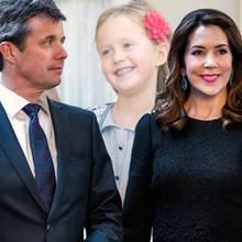 Prinz Frederik, Prinzessin Mary, Prinzessin Josephine, Prinz Vincent