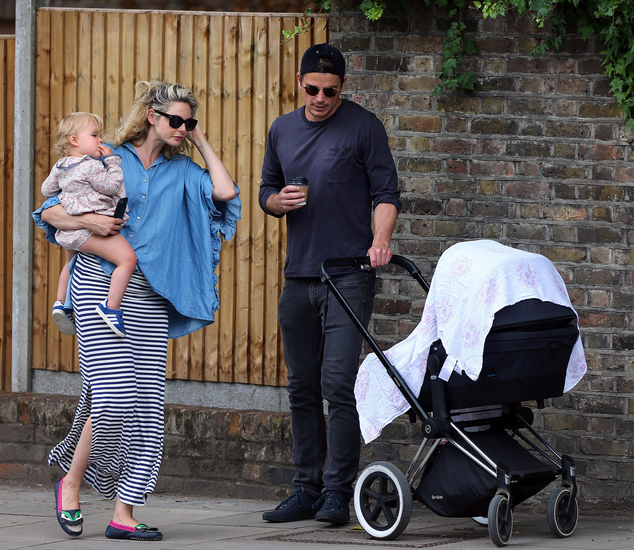 Josh Hartnett And Tamsin Egerton Baby