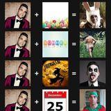 """14. August 2017  """"Der Sommer sieht gut aus"""", postet Robbie Williams zu seiner lustigen Collage. Seine weiblichen Fans dürften da wohl zustimmen."""