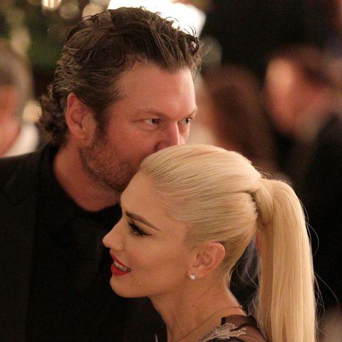 Blake Shelton + Gwen Stefani