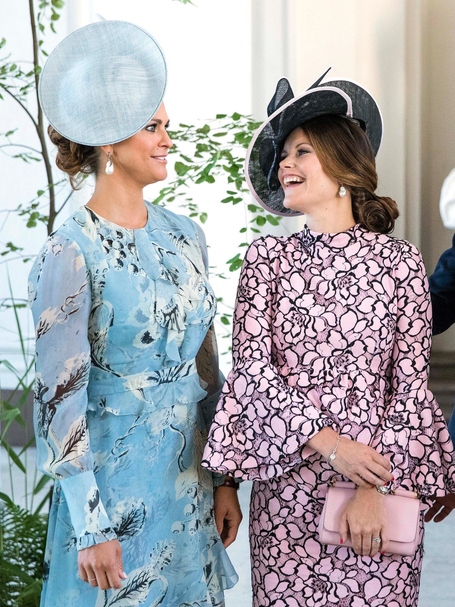 Prinzessin Madeleine + Prinzessin Sofia