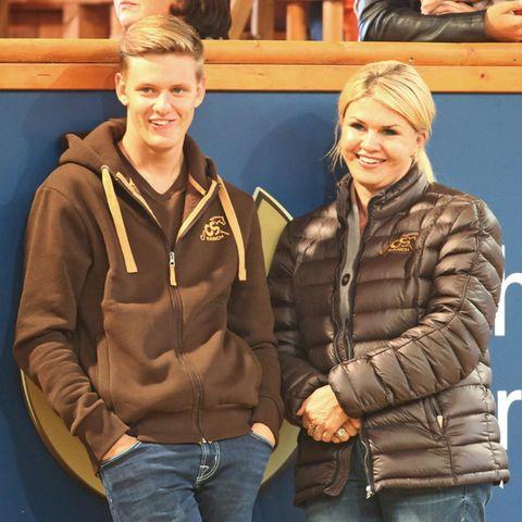 Mick und Corinna Schumacher