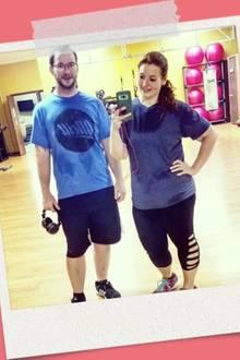Durch dick und dünn: Dieses Paar verliert gemeinsam 140 Kilo Gewicht