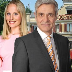 """Louisa von Spies alias """"Desirée"""" und Dietrich Adam alias """"Friedrich Stahl"""" verlassen in der dritten Augustwoche 2017 die beliebte Telenovela """"Stum der Liebe"""""""